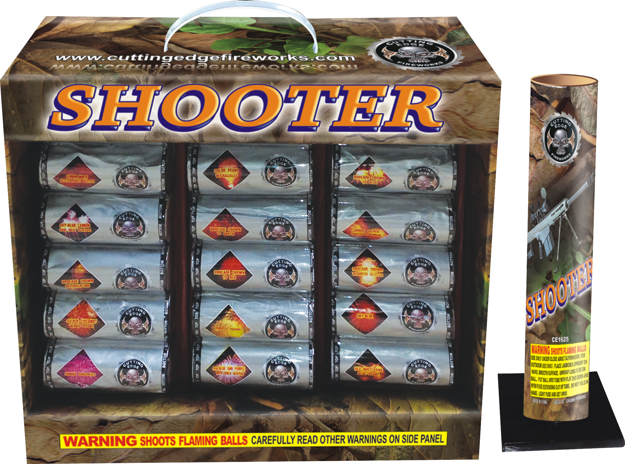CE Shooter | Cutting Edge Fireworks
